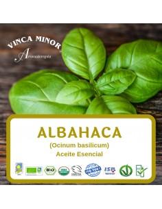 Albahaca (Ocinum basilicum-basil) - Aceite Esencial 10 ml