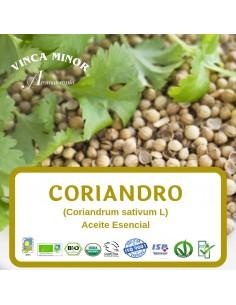 Coriandro (Coriandrum sativum L (coriander seed oil) - Aceite Esencial 10 ml