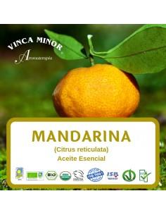 Mandarina (Citrus reticulata) - Aceite Esencial 10 ml