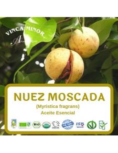 Nuez Moscada (Myristica fragans (nutmeg kernel oil) - Aceite Esencial 10 ml