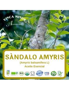 Sandalo Amyris (Amyris balsamifera L.) - Aceite Esencial 10 ml