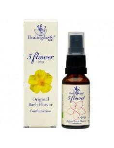 Esencia 5 flores (Rescate) en spray 25ml